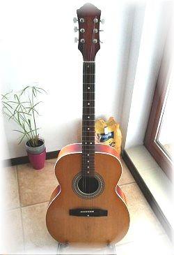 Renowacja gitary akustycznej Defil W-6 Grand Concert